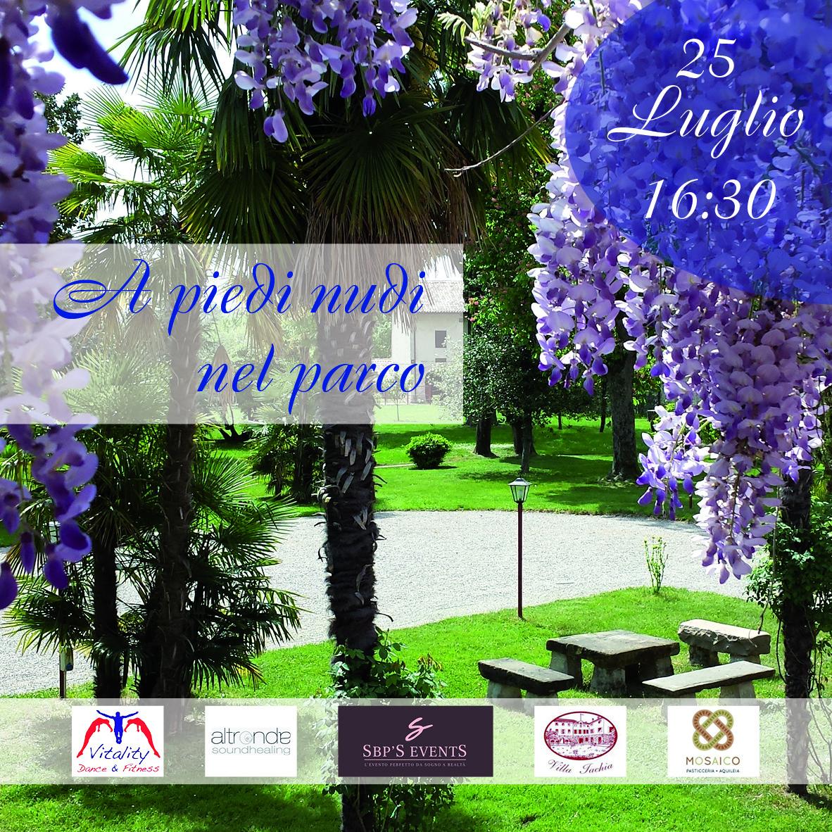 A piedi nudi nel Parco: un pomeriggio di relax, meditazione ed emozioni a Villa Iachia