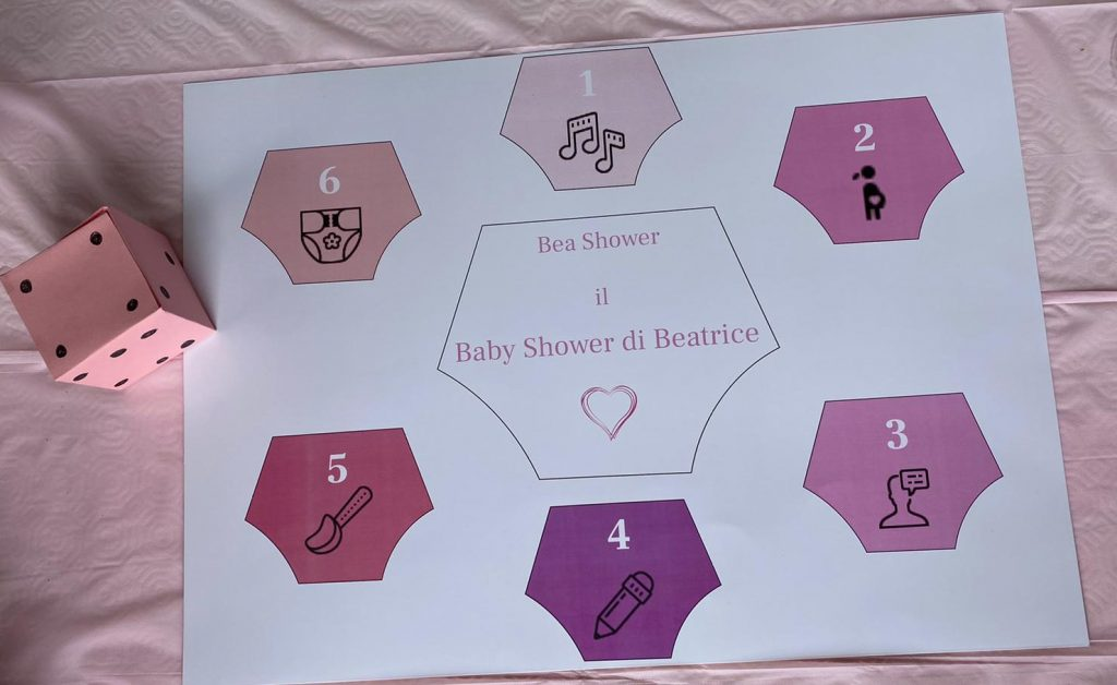 Bea Shower il Baby Shower di Beatrice